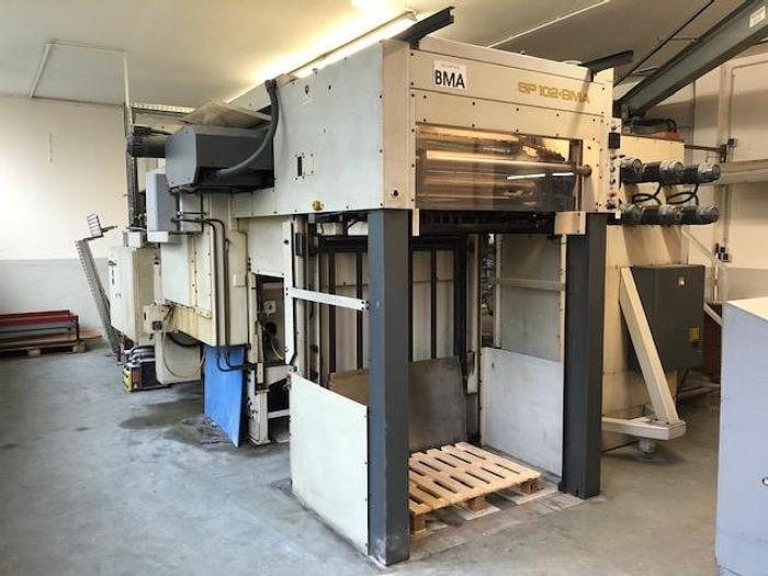 Used 1993 Bobst SP 102 BMA