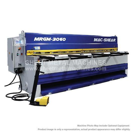 MAC-SHEAR Direct Gear Motorized Guillotine Shear MRGM 3060