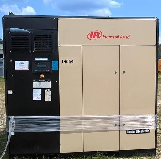 Used Ingersoll Rand Air Compressor; 200HP; Md#IRN200H-2S