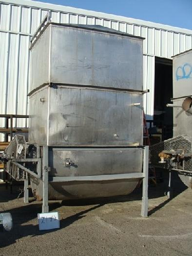 Fran Rica 30 Ton/ Hour Rotary Coil Hot Break Tank