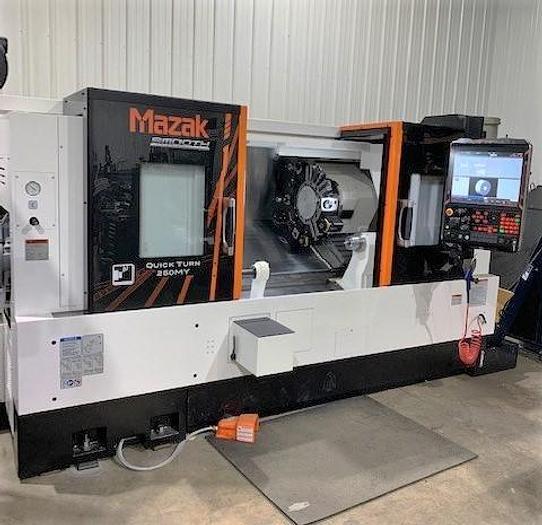 Used 2020 Mazak Quick Turn 250MY/1000