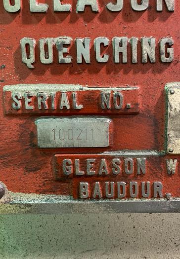 GLEASON 537 QUENCH PRESS REMANUFACTURED BY DAYTON MACHINE TOOL