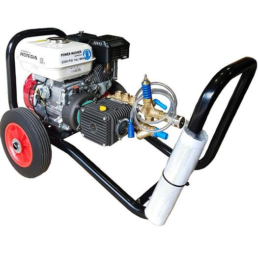 2200 Psi Honda GX200 6.5hp Pressure Washer (Comet Pump)