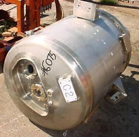 80 Gal Northland 316 stainless steel reactor
