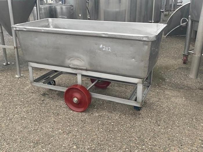 Used Portable Meat Tub