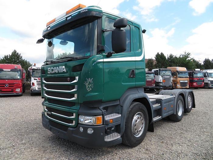 Meget god 2014 Scania R490 6x2 Euro 6 - Hydraulik
