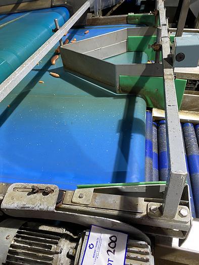 Used Stainless Steel Conveyor Belt 1.1m L 1.9m W