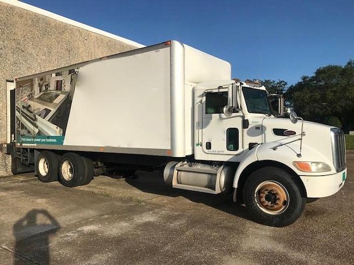 Used 2010 PETERBILT 335 DRY BOX TRUCK