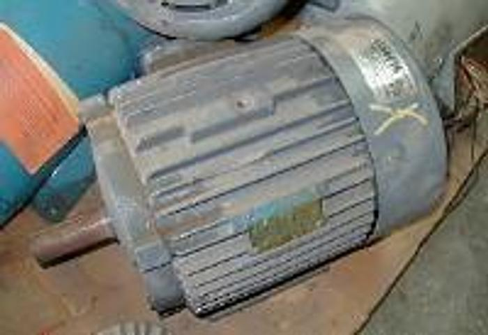 Used 7.5 HP Lelend Faraday A.C. motor, 213T frame.