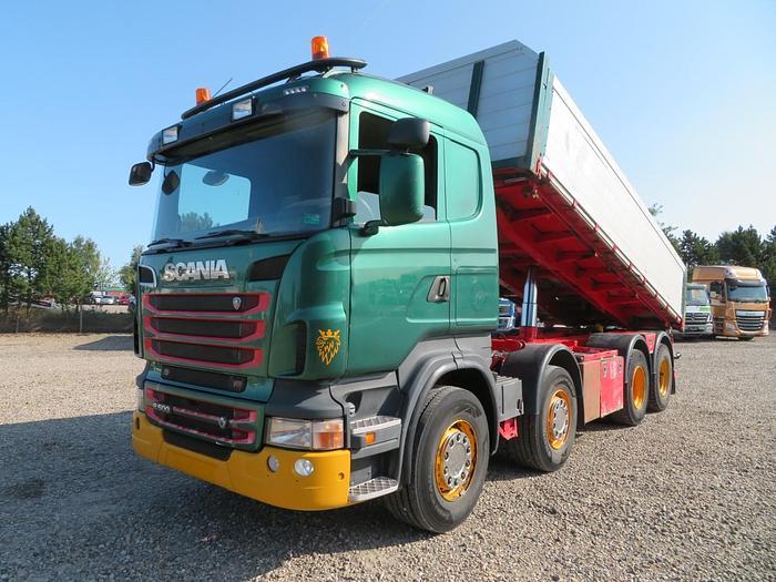 Meget god Scania R500 8x4 Nopa Pendel Euro 5