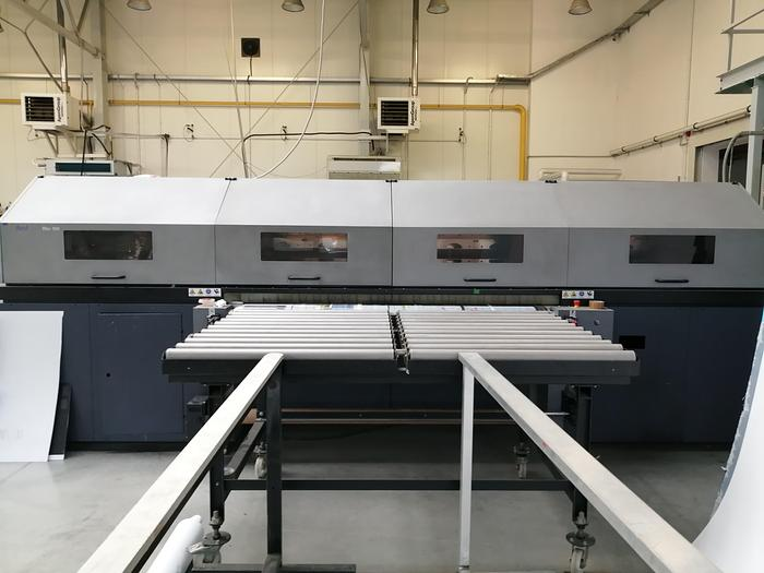 Used Digital UV flatbed and roll-to-roll printer Durst RHO 700