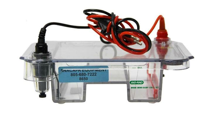 Used Bio-Rad  Wide Mini-Sub Cell GT Electrophoresis System (8650)W