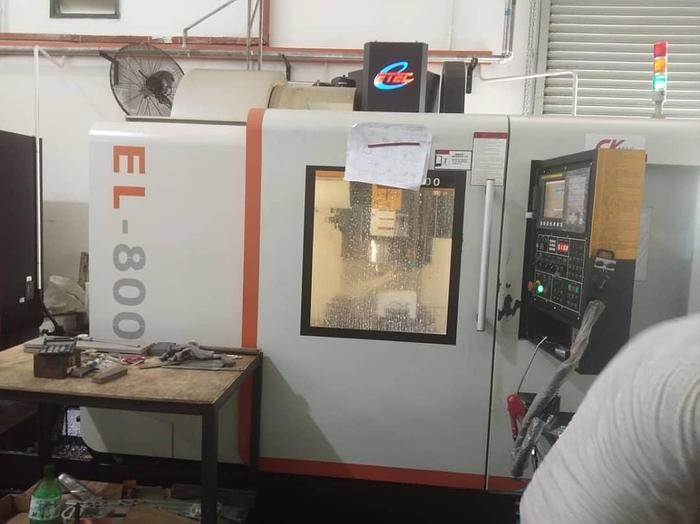 Used 2017 ETEC EL 800 CNC MILLING MACHINE