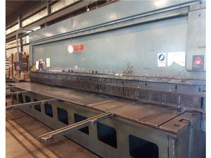 """3/8"""" x 20' All-Steel CNC Hydraulic Shear"""