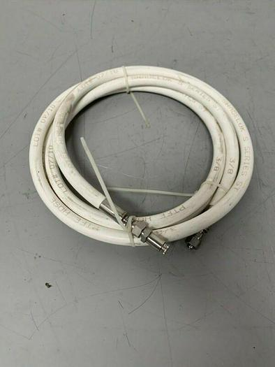 "Used Swagelok S Series ST 3/4"" x 144"" Flexible Sanitary Hose"