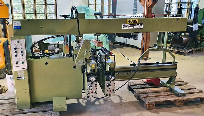 Used 1982 Biesse BIESSE - multispindle boring machine   model BEAVER