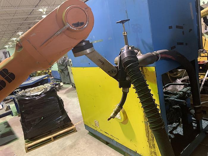 ABB IRB 4600-20/2.5 6 AXIS CNC MIG WELDING ROBOT
