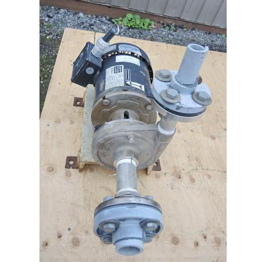 """USED CENTRIFUGAL PUMP, 1.25"""" X 1"""" INLET & OUTLET, 316 STAINLESS STEEL"""