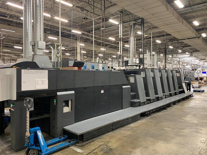 Heidelberg CD74-6P+LX UV