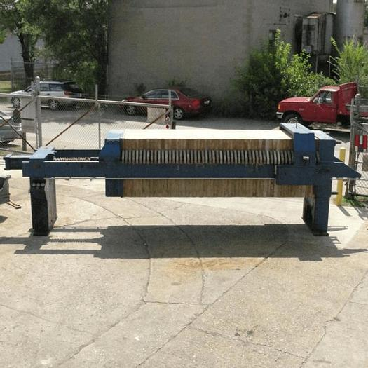 Used 40 CU. FT. JWI FILTER PRESS – 1000 MM – C.G.R. AUTOMATIC