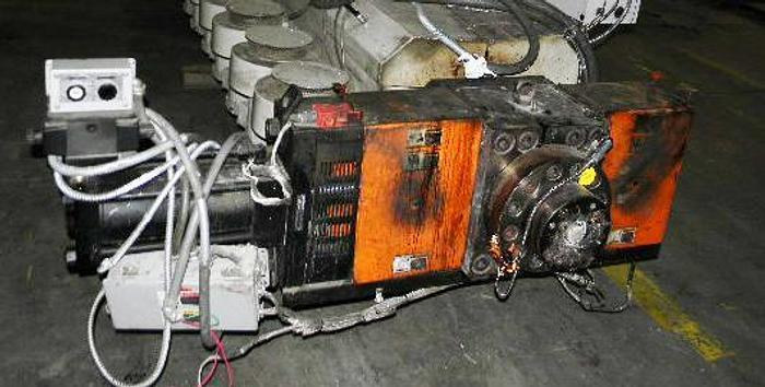 "Used 6"" Berringer Screen Changer w/hydraulic unit"