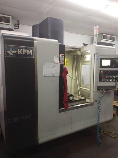 Used 2018 KFM TL-750 CNC MILLING MACHINE