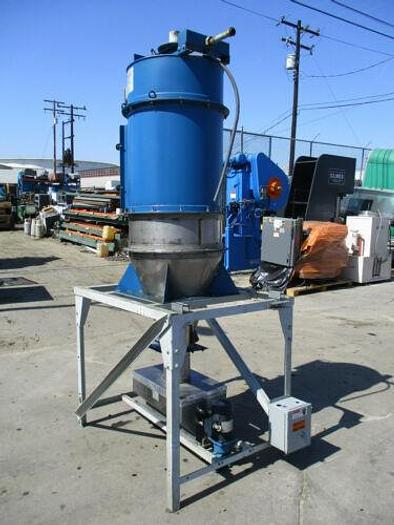 Used TORIT DONALDSON MODEL 162 CARTRIDGE SS DUST COLLECTOR W MOTORIZED HOPPER FEEDER