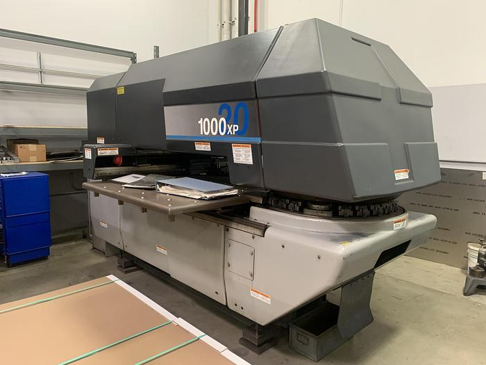 Used 22 Ton Strippit 1000XP CNC Turret Punch