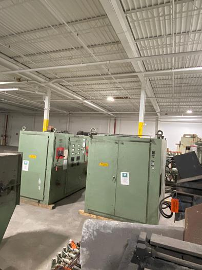 2001 INDUCTOTHERM 6MT DUAL TRAK INDUCTION MELTING SYSTEM