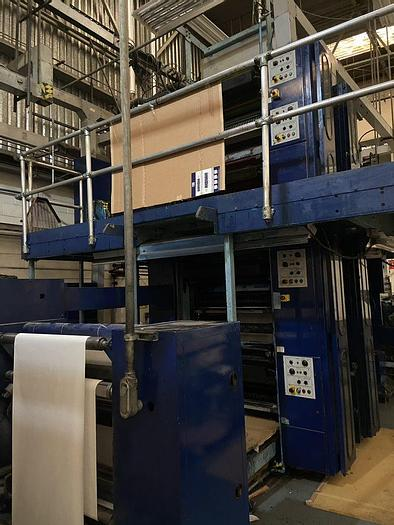 """Used 2005 DGM 440 (1) Tower Web Press with Combination Folder 22.75"""" / 578mm"""