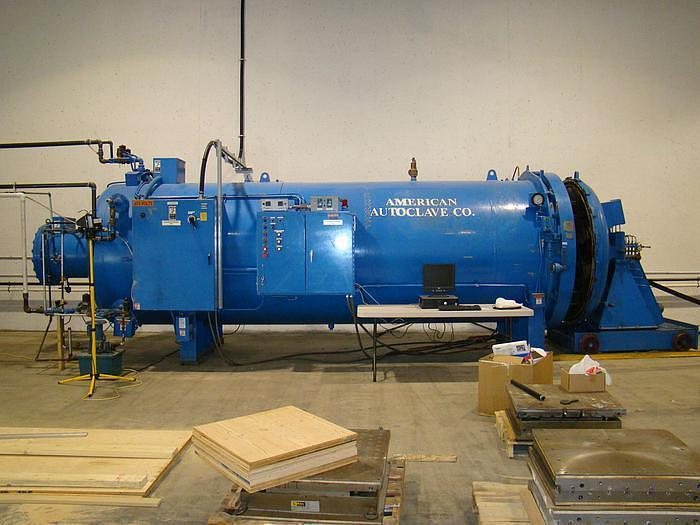 """Used WSF/Amercican Autoclave 5'6"""" dia x 19' 6"""" long"""
