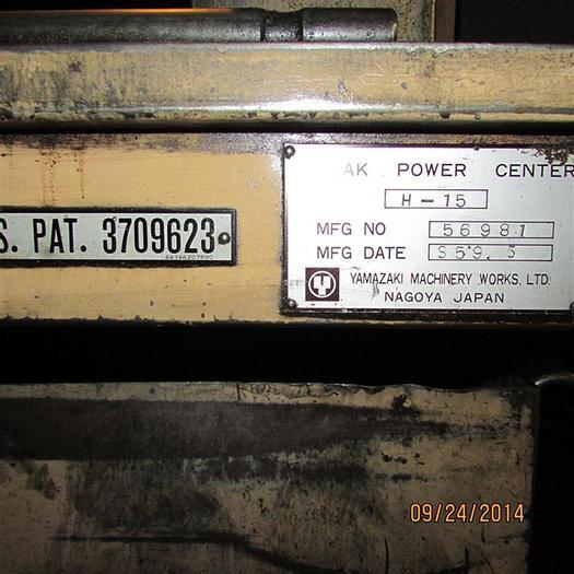 Used 1984 Mazak H15B 6 Pallets