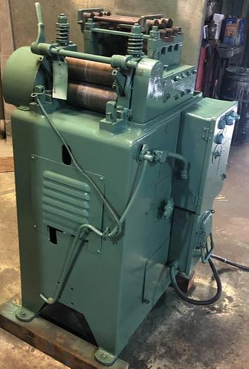 "Used 8"" x 0.095"", LITTELL, No. 308-7PDS MOTORIZED STRAIGHTENER"