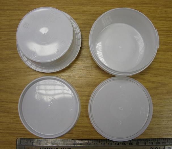 Plastic Pot Filler and Lidder