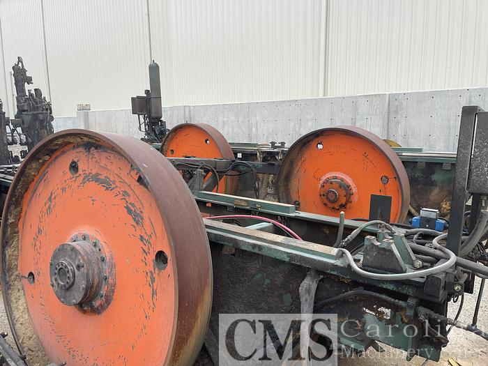 Used USNR Quad Bandmill with Chipping Heads