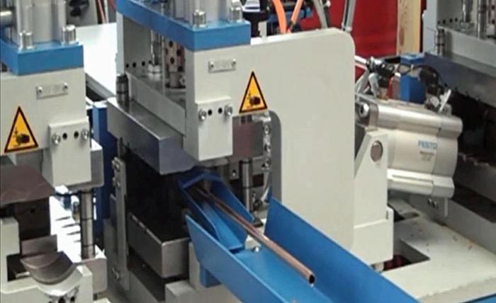 Transfluid RT612-Coil Chipless Cutting Machine