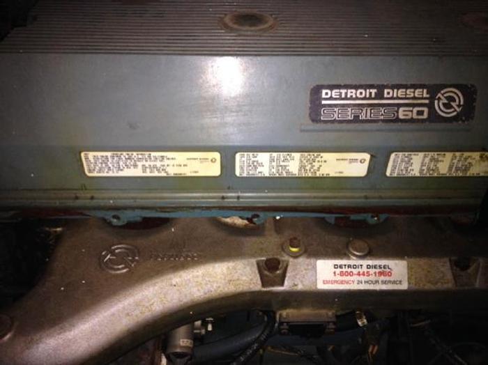 2000 HB18638 Detroit Diesel Hydraulic Power Pack 500 HP Detroit