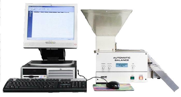 Used Mocon AB-Plus Master Automatic Balance Capsule Sorter AB Weight Sorting (5722)