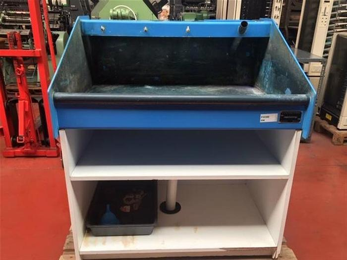 D'occasion Machinimp NV Drukkerij Machines, Belgium bac de lavage