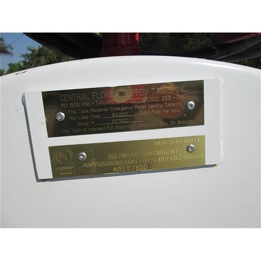 New 500 Gallon Double Wall Diesel Or Gas UL Labeled Fuel Tank