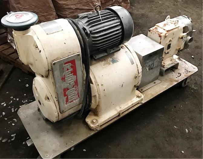 Used Waukesha Stainless Steel Pump 60