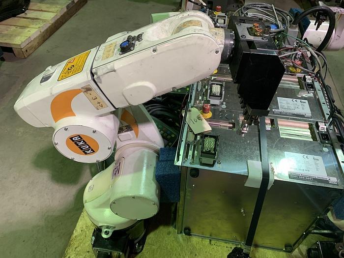 19-USED KUKA KR-5 SIXX R650 6 AXIS CNC ROBOT