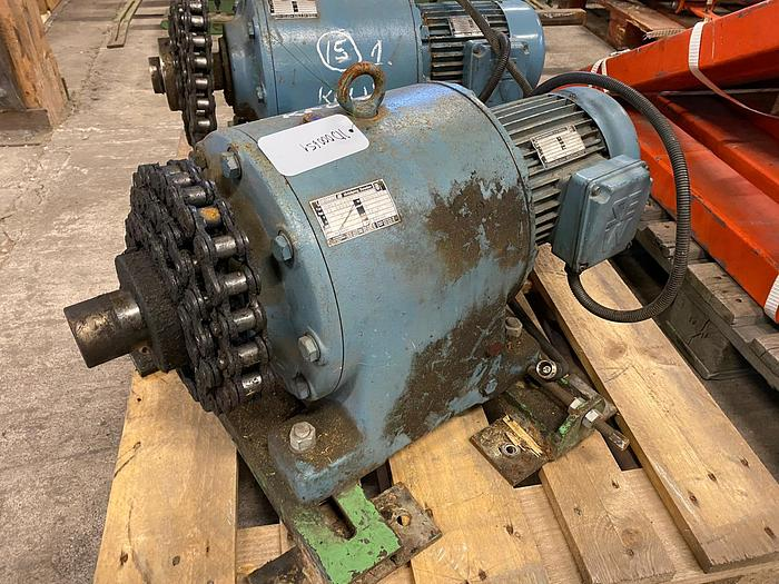 Used 1,5 kW, SEW-Eurodrive, Electric motor with reducer