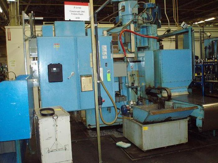 "Used 20"" x 60"" Cincinnati CNC 5 Axis Hydrotel 4 Spindle Vertical Mill"