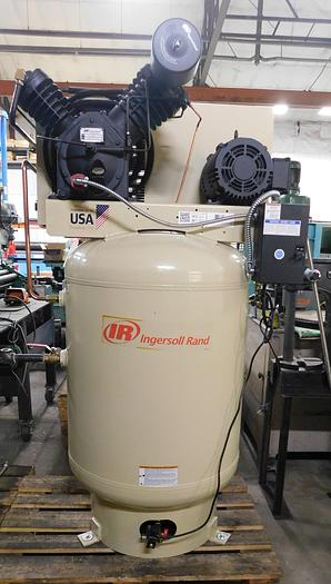 Used 2020 Ingersoll Rand 10 HP Reciprocating Air Compressor CBV672951 2525