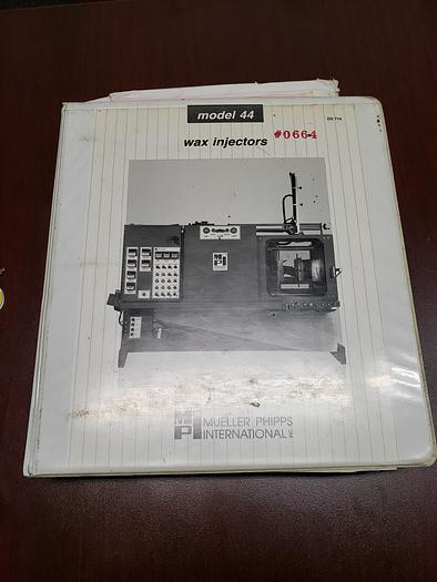 1998 MPI INVESTMENT CASTING WAX PRESS 44-30 HORIZONTAL