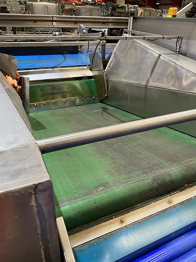 Used Stainless Steel Even Flow Hopper 2m L 1.6m W