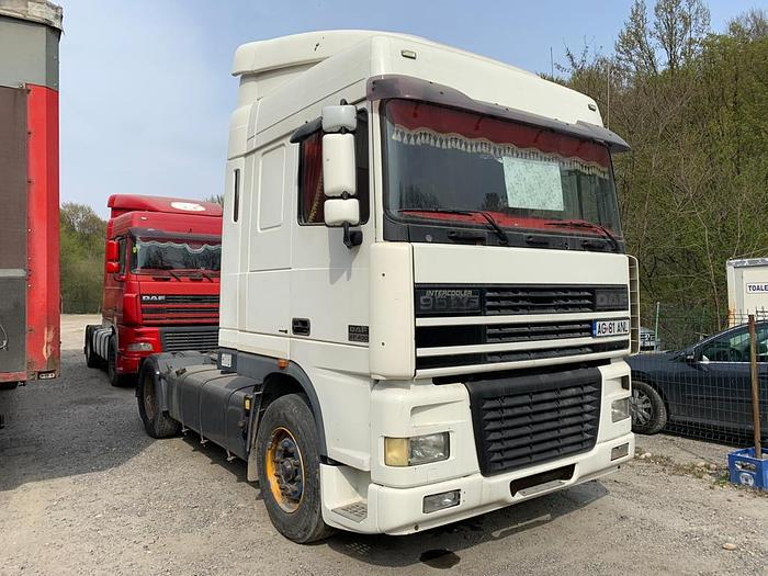 2001 DAF 95 XF 430 EURO 3 MANUAL