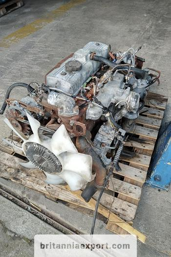 Used Perkins 4.182 engine & gearbox for Mazda T3000