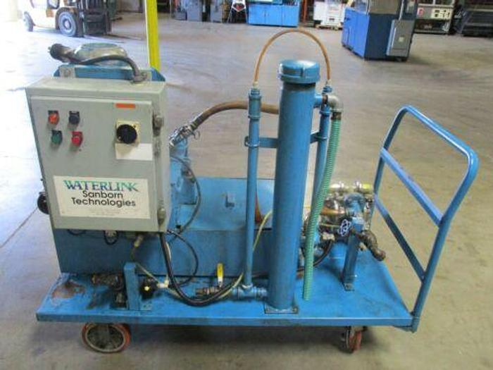 Used Sanborn Model T14-3 Portable System for Coolant Recycling / Centriguge Separator